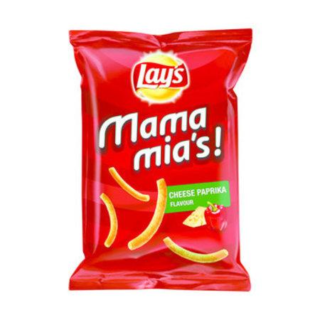 Lay's Lay'S - Mamamia'S 125G Paprika-Kaas, 9 Zakken