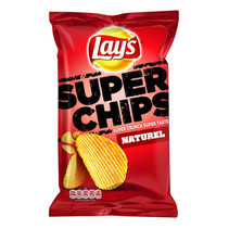Lay'S - Superchips 215Gr Naturel 8Z/Ds, 8 Zakken