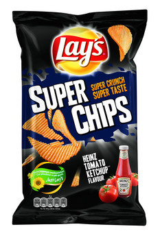 Lay's Lay'S - Superchips 215Gr Heinz Ketchup, 8 Zakken
