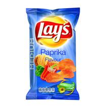 Lay'S - Chips 120Gr Paprika, 12 Zakken