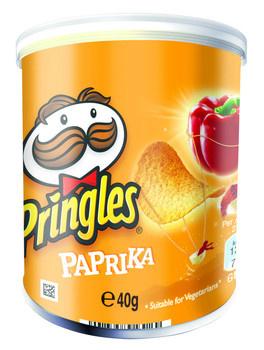 Pringles Pringles - Pringles 40Gr Paprika, 12 Kokers