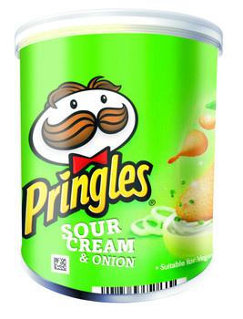 Pringles Pringles - Pringles 40Gr Sour Cr/Onion, 12 Kokers