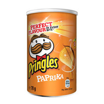 Pringles - Pringles Paprika 70G, 12 Kokers