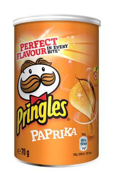 Pringles Pringles - Pringles Paprika 70G, 12 Kokers