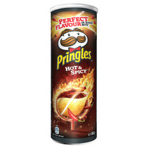Pringles - Pringles Hot & Spicy 165G, 19 Kokers