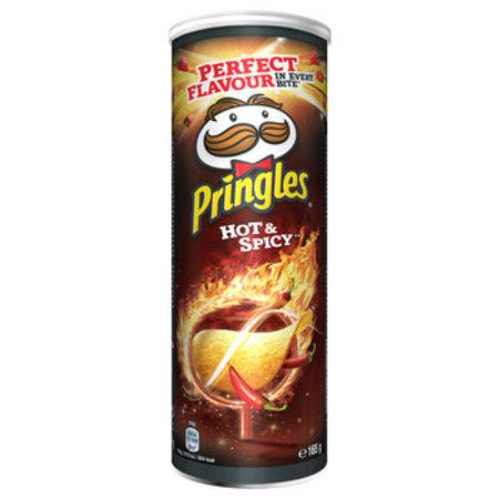 Pringles Pringles - Pringles Hot & Spicy 165G, 19 Kokers