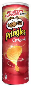 Pringles Pringles - Pringles Original 165G, 19 Kokers