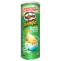 Pringles - Pringles Sour Cream Onion 165G, 19 Kokers