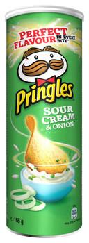 Pringles Pringles - Pringles Sour Cream Onion 165G, 19 Kokers