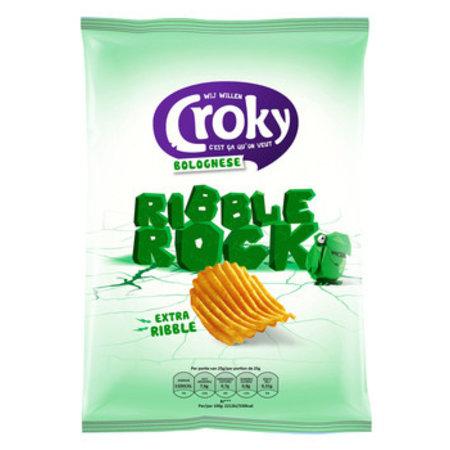 Croky Croky - Ribble Rock Bolognese 130G, 9 Zakken