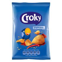 Croky - Croky Chips 40G Paprika, 20 Zakken