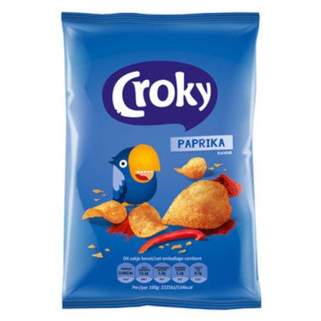Croky Croky - Croky Chips 40G Paprika, 20 Zakken