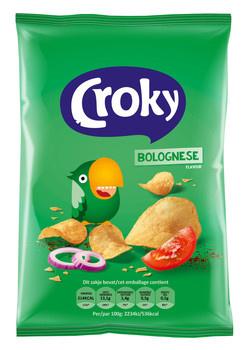 Croky Croky - Croky Chips 40G Bolognese, 20 Zakken