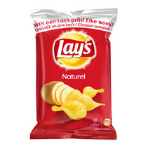 Lay'S - Chips 40Gr Naturel, 20 Zakken