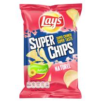 Lay'S - Superchips 45Gr Naturel, 20 Zakken