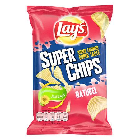 Lay's Lay'S - Superchips 45Gr Naturel, 20 Zakken