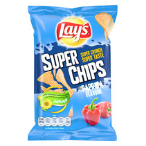 Lay'S - Superchips 45Gr Paprika, 20 Zakken