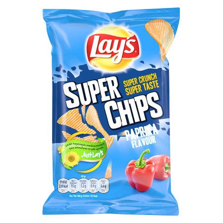 Lay's Lay'S - Superchips 45Gr Paprika, 20 Zakken