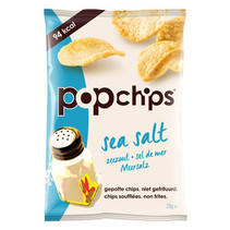 Pop Chips - Popchips Salt 23G, 21 Zakken
