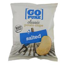 Go Pure! - Bio Go Pure Chips Salted, 15 Zakken