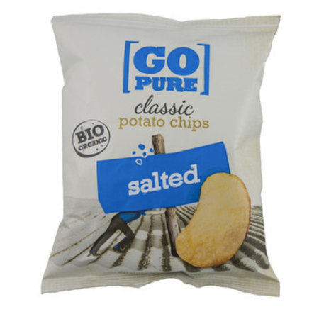 Go Pure! Go Pure! - Bio Go Pure Chips Salted, 15 Zakken