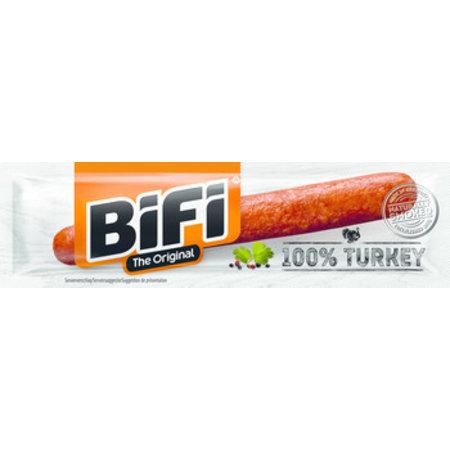 Bifi Bifi - Bifi 100% Turkey 24X20G, 24 Stuks