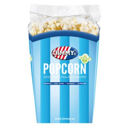 Jimmy´s Jimmy´S - Tub Popcorn 90G Zout, 6 Bekers