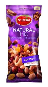 Nutisal Nutisal - Sporty Mix Natural 14 X 60 Gr, 14 Stuks