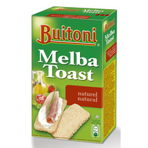 Buitoni - Melba Toast 100Gr Naturel 1Pk, 1 Pack