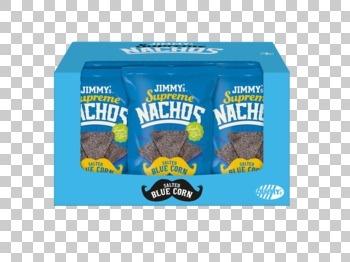 Jimmy´s Jimmy´S - Supreme Nachos Bluecorn 140Gr, 12 Zakken