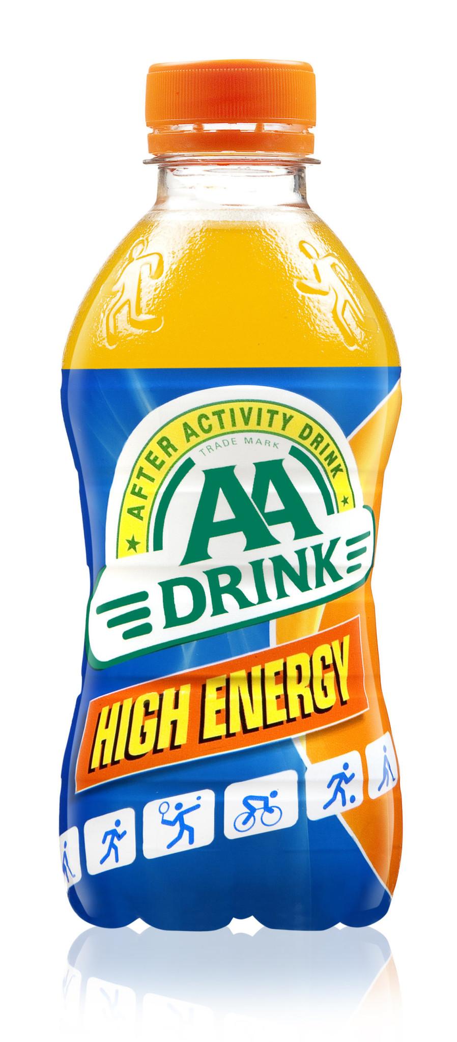 AA Drink Aa Drink - Aa Drink High Energy 33Cl Pet, 24 Flessen