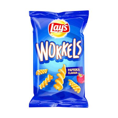 Lay's Lay'S - Wokkels Paprika 30G, 24 Zakken