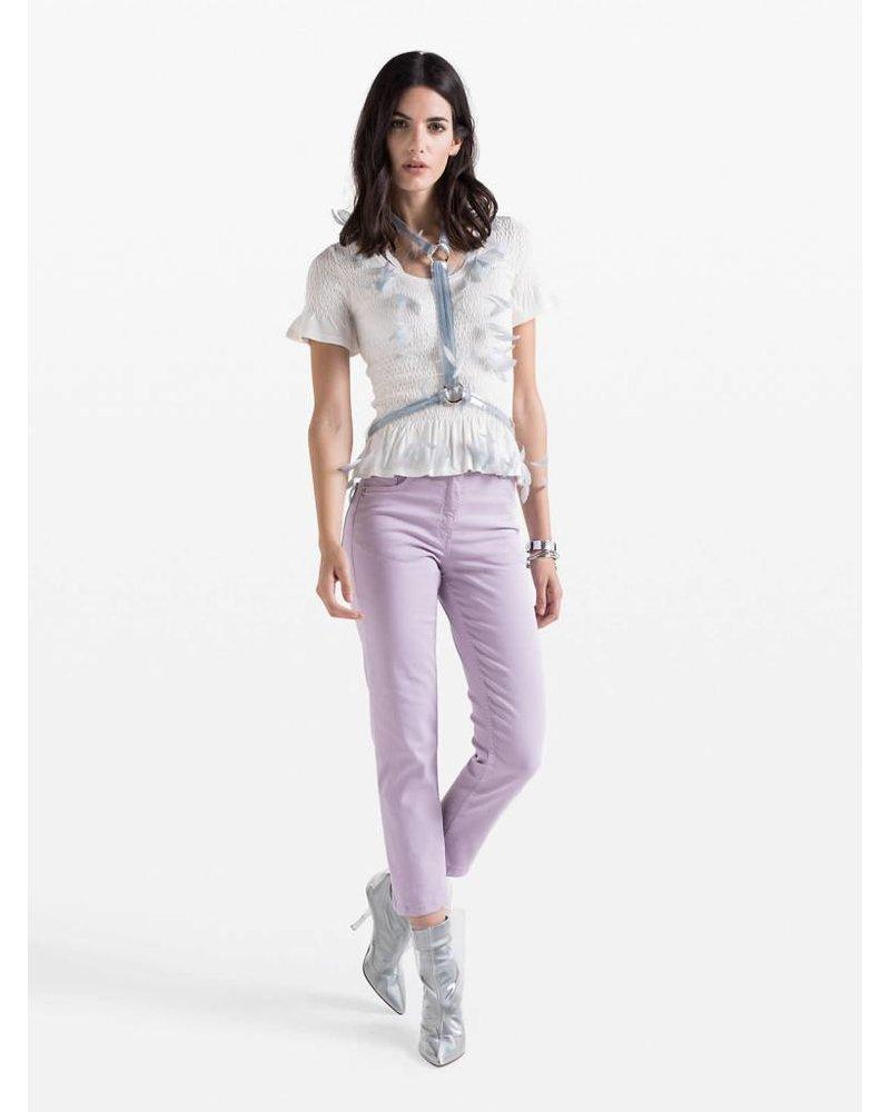 Patrizia Pepe Patrizia Pepe pantaloni lilac