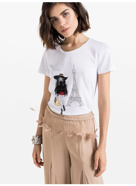 Patrizia Pepe T-shirt Paris