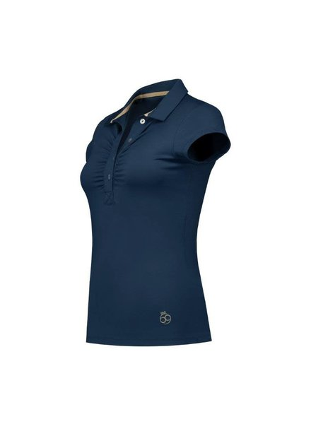 PAR69 Bien polo SS dark navy