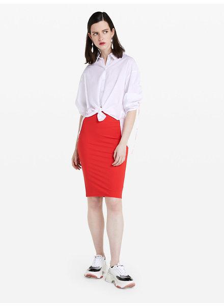 Patrizia Pepe Skirt red
