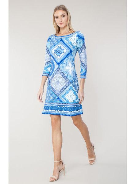 Hale Bob Mariposa dress Blue