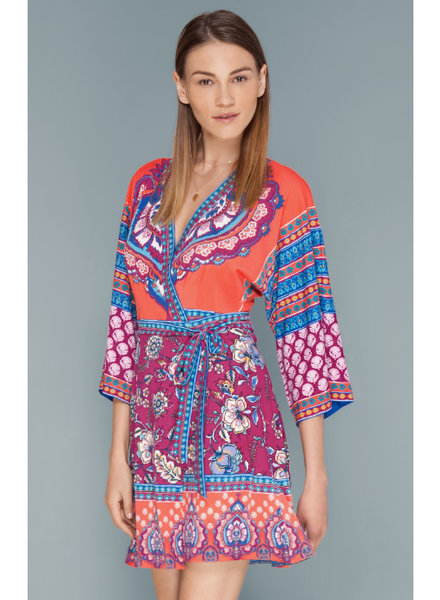 Hale Bob Sunday jersey wrap dress