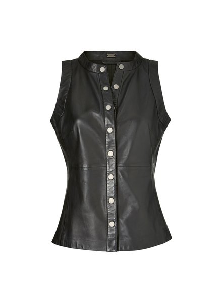Gustav Lamb leather top black