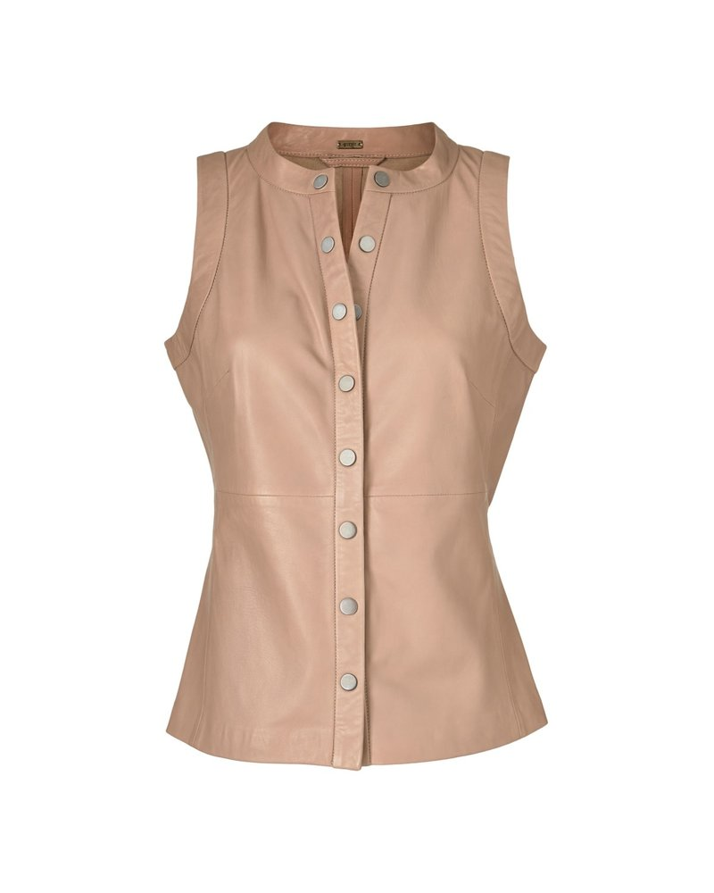 Gustav Gustav lamb leather top light camel