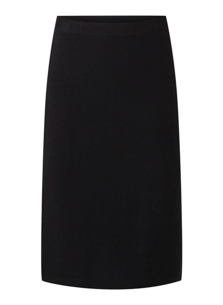 REPEAT cashmere Cashmere skirt black