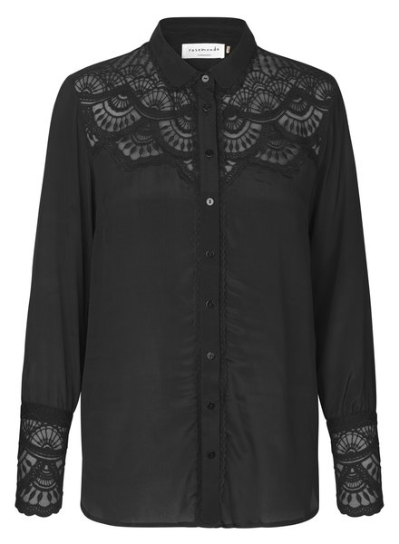 Rosemunde Blouse ls black