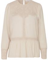 Rosemunde Shirt ls whisper beige