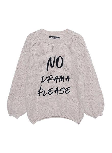 PAUL X CLAIRE Pullover 'No drama please'