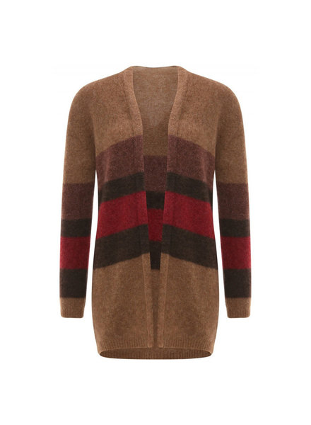 No Man's Land Cardigan carmine