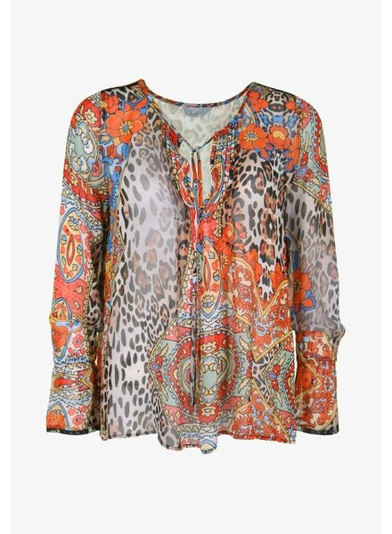 Frogbox Paisley leo blouse