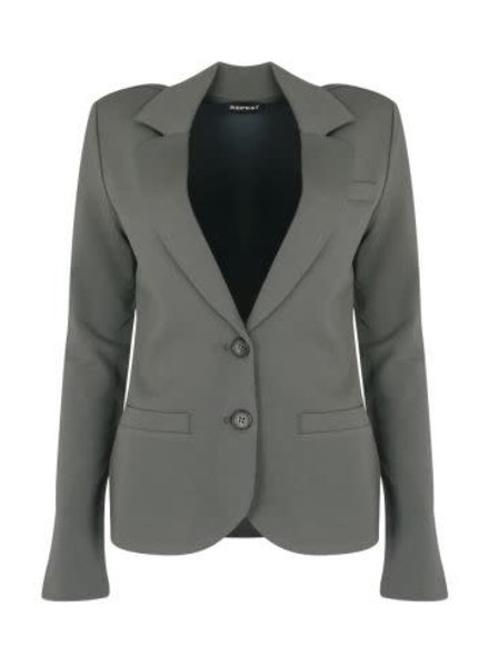 REPEAT cashmere Blazer mud