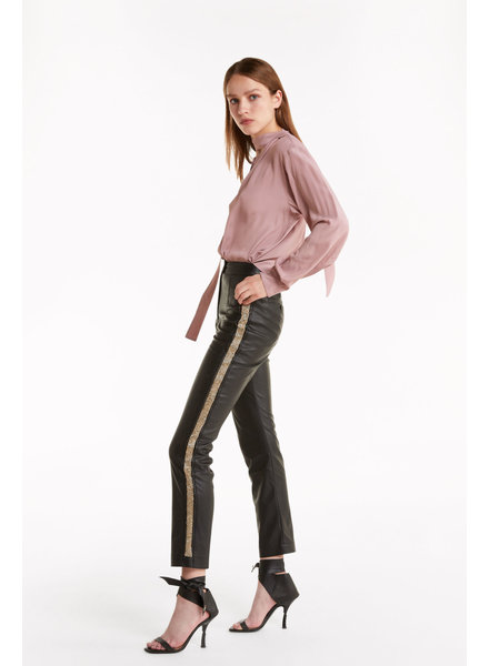 Patrizia Pepe Pantaloni faux leather