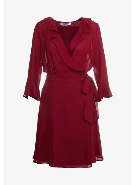 Marella Dress Nichel bordeaux