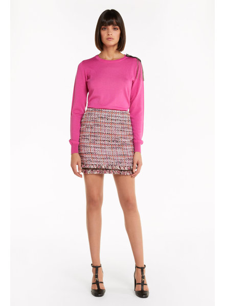 Patrizia Pepe Skirt coral check